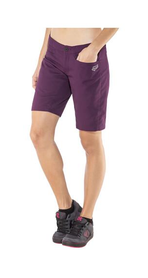 Fox Ripley Spodnie rowerowe Kobiety fioletowy